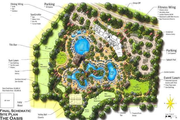 The Oasis at Champions Gate map